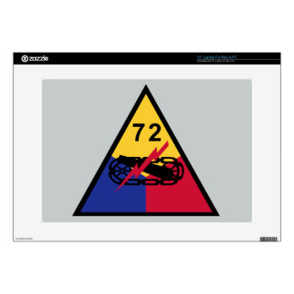 72nd Armored Division Laptop Skins