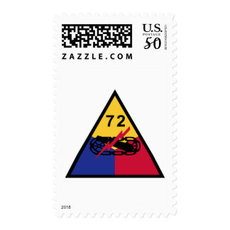 72nd Armored Division Postage