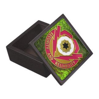 72nd Ordnance Battalion Crest Keepsake Box