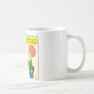732 What does heck mean cartoon Classic White Coffee Mug
