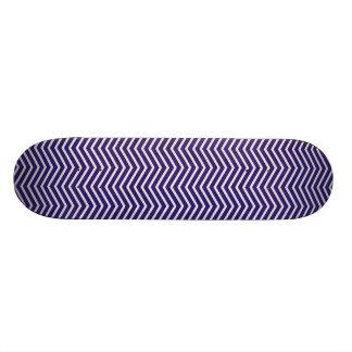 7330 BLUE ZIGZAG PATTERN TEMPLATE DIGITAL GRAPHICS SKATEBOARD