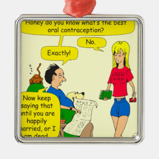 733 best oral contraception cartoon metal ornament
