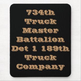 734o Batallón principal del camión Tapete De Ratón
