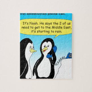 735 Antediluvian penguins cartoon Puzzle