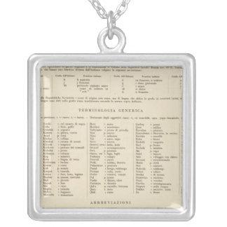 7374 Legend Caucasia, Caspian Sea Silver Plated Necklace