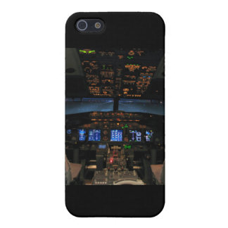 737 cockpit2, 737NG iPhone 5 Cover