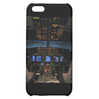 737 cockpit2, 737NG iPhone 5C Cases