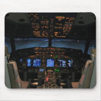 737 cockpit mouse pad