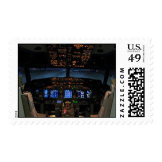 737 cockpit postage