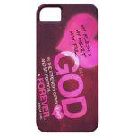 73:26 del salmo - rosa (iPhone 5) iPhone 5 Fundas