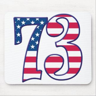73 Age USA Mouse Pad