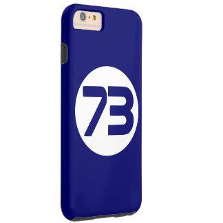 73 el mejor número Big Bang Funda De iPhone 6 Plus Tough
