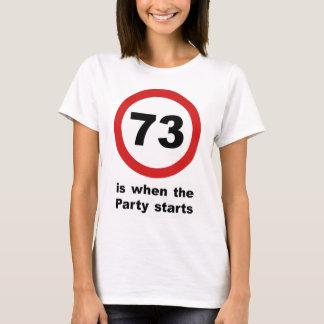 73 es cuando el fiesta comienza playera