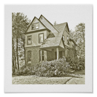 73 Highland Avenue in Short Hills NJ Poster