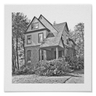 73 Highland Avenue in Short Hills NJ Posters