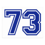 73 - número postales