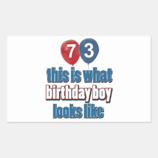 73 os diseños del cumpleaños rectangular altavoz
