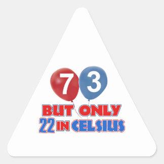 73 os diseños del cumpleaños etiqueta