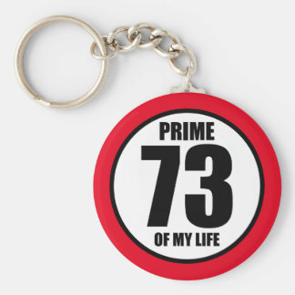 73 - prime of my life keychain