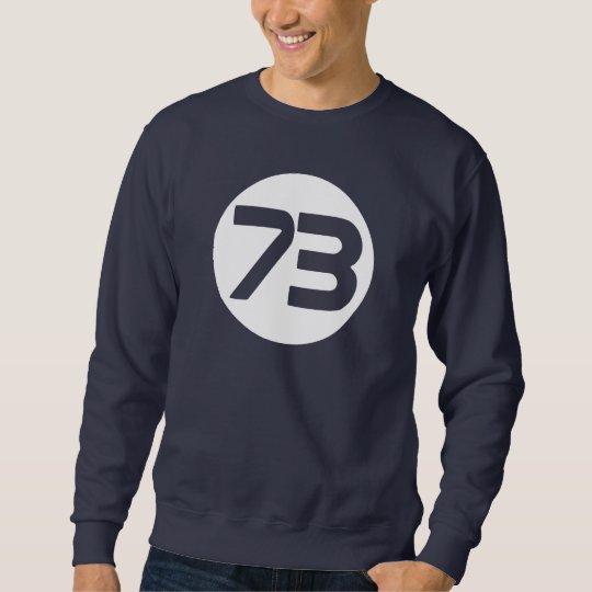 73 the best number Bang Sheldon Sweatshirt