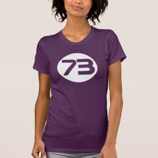 73 the best number Big Bang Sheldon t shirt