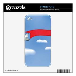73Plane Banner_rasterized iPhone 4S Skin
