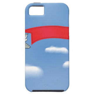 73Plane Banner_rasterized iPhone SE/5/5s Case