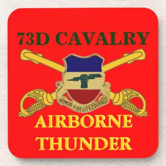 73RD CAVALRY AIRBORNE THUNDER DRINK COASTER