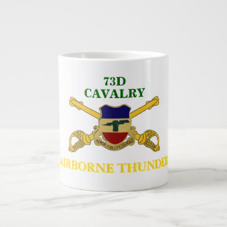 73RD CAVALRY AIRBORNE THUNDER JUMBO MUG