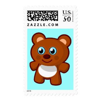 7414-little-bear-toy-vector  LITTLE BROWN TEDDYBEA Postage