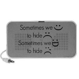 741515373 SONREÍMOS A VECES RISA EN LUGAR DE OTRO iPod ALTAVOZ