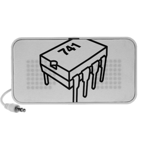 741 Op-Amp Chip (for Electronics Engineers) Portable Speaker