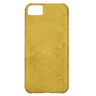 7471 MUSTARD YELLOW TEXTURE GRUNGE TEMPLATES DIGIT COVER FOR iPhone 5C