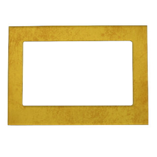 7471 MUSTARD YELLOW TEXTURE GRUNGE TEMPLATES DIGIT MAGNETIC PICTURE FRAME