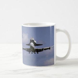 747 and shuttle arriving, Ottawa International Air Coffee Mug