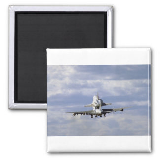 747 and shuttle take off, Ottawa International Air Refrigerator Magnet