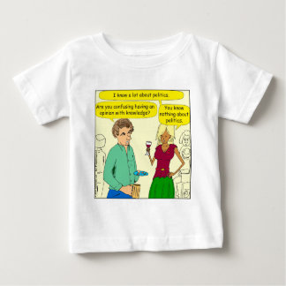 749 I write a political blog cartoon Baby T-Shirt