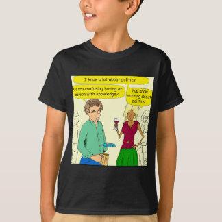 749 I write a political blog cartoon T-Shirt