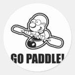 74_go_paddle pegatinas redondas
