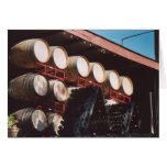 74. Wine Barrels, Sonoma County, CA Greeting Card