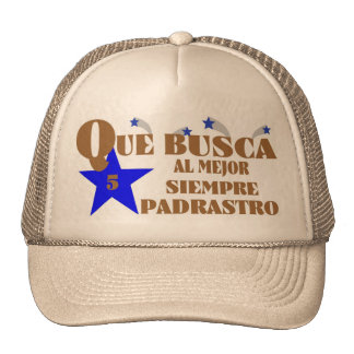 74Best  Ever 5-Star Padrastro Trucker Hat