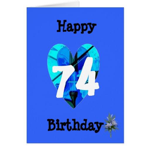 Happy Th Birthday Card Design