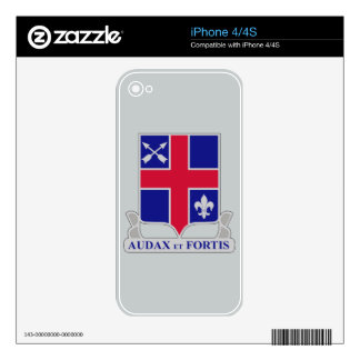 74th Infantry Regiment iPhone 4S Decals