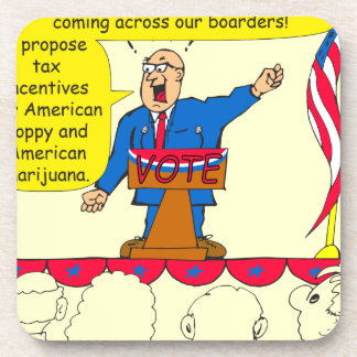 750 Drugs coming across our boarders cartoon Coaster