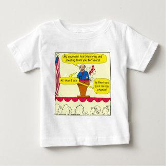 751 give me a chance political cartoon baby T-Shirt