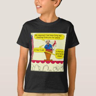 751 give me a chance political cartoon T-Shirt