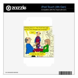 752 I had my teeth cartoon iPod Touch 4G Decal