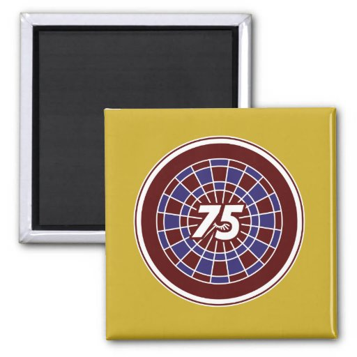 75: Aim and Achieve 2 Inch Square Magnet