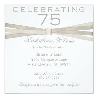 75.as invitaciones elegantes de la fiesta de comunicados personales