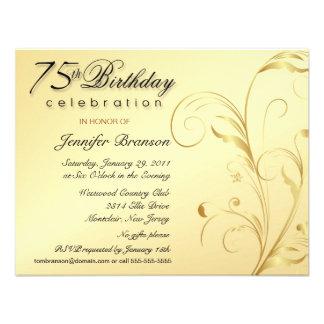 75 as invitaciones elegantes del fiesta de sorpres